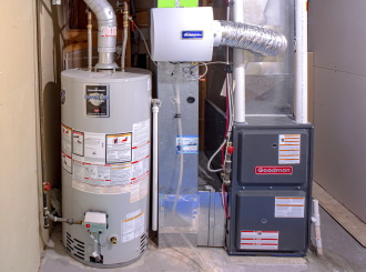 heating installation in the St. Louis area
