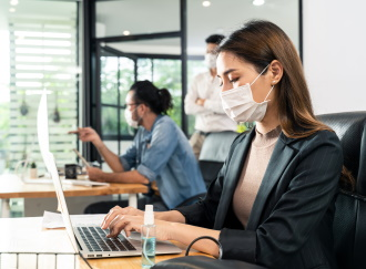 reduce office indoor pollution